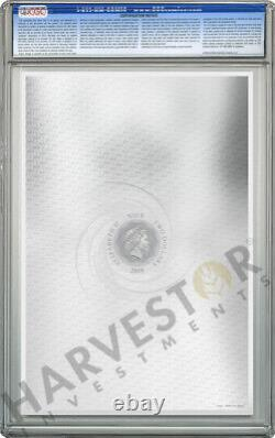 Star Wars The Phantom Menace Premium Silver Foil Cgc 10 Mint Première Version