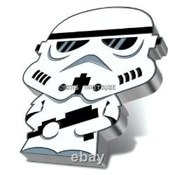Stormtrooper Chibi Star Wars Series 1 Oz Proof Silver Coin Niue 2020