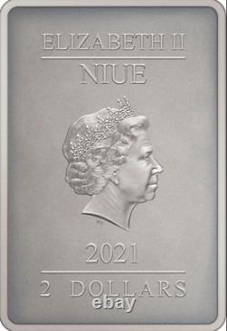 Superman L'homme D'acier 2021 Niue 1oz Silver Coin Ngc Pf70 Uc Premières Libérations