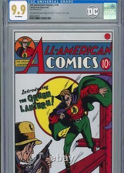 Tous Les Comics Américains #16 DC Comics Premium Silver Foil Cgc 9,9 Fr